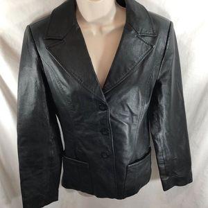 Uniform John Paul Richard Womens Sz S  Leather Bu